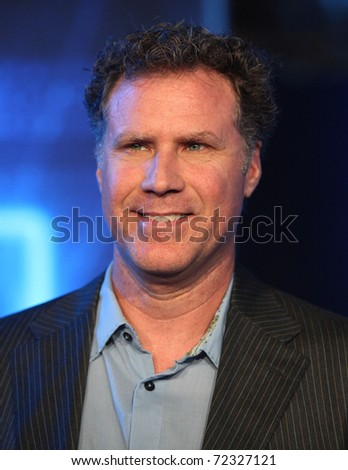 LOS ANGELES - DEC 11:  Will Ferrell arrives to the 'Tron: Legacy' World Premiere  on December 11, 2010 in Hollywood, CA - stock photo