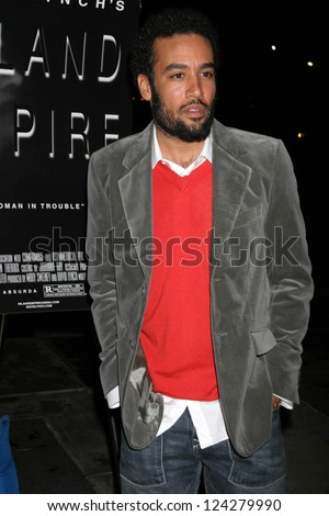 LOS ANGELES - DECEMBER 09: Ben Harper at the Los Angeles Premiere of Inland Empire at LACMA December 09, 2006 in Los Angeles, CA. - stock photo