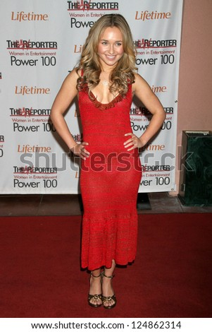 LOS ANGELES - DECEMBER 05: Hayden Panettiere at the 15th Annual The Hollywood Reporter's 2006 Women In Entertainment Power 100 at Beverly Hills Hotel December 05, 2006 in Beverly Hills, CA.