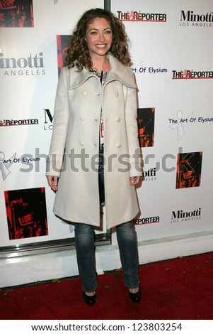 "LOS ANGELES - DECEMBER 02: Rebecca Gayheart at the ""Art of Elysium Annual Art Benefit"" at Minotti on December 02, 2006 in Los Angeles, CA"