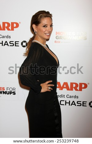 LOS ANGELES - FEB 2:  Alex Meneses at the AARP 14th Annual Movies For Grownups Awards Gala at a Beverly Wilshire Hotel on February 2, 2015 in Beverly Hills, CA - stock photo