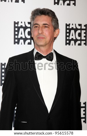 LOS ANGELES - FEB 18:  Alexander Payne arrives at the 62nd Annual ACE Eddie Awards at the Beverly Hilton Hotel on February 18, 2012 in Beverly Hills, CA - stock photo