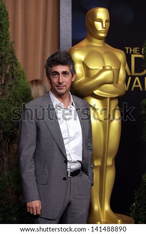 LOS ANGELES - FEB 6:  ALEXANDER PAYNE arrives to the 2012 Academy Awards Nominee Luncheon  on Feb 6, 2012 in Beverly Hills, CA - stock photo