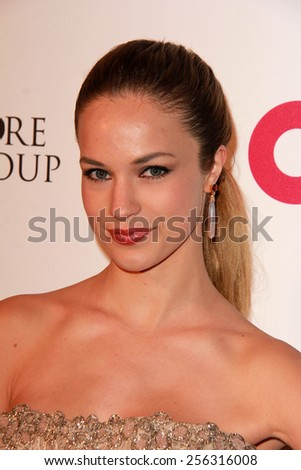 LOS ANGELES - FEB 22:  Alexis Knapp at the Elton John Oscar Party 2015 at the City Of West Hollywood Park on February 22, 2015 in West Hollywood, CA - stock photo