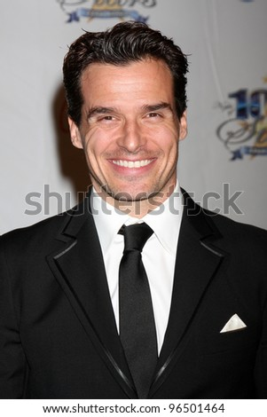 """LOS ANGELES - FEB 26:  Antonio Sabato Jr. arrives at the """"Night of a 100 Stars"""" Oscar Viewing Party at the Beverly Hills Hotel on February 26, 2012 in Beverly Hills, CA. - stock photo"""