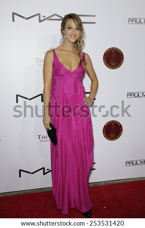 LOS ANGELES - FEB 14: Beau Garrett at the Make-Up Artists & Hair Stylists Guild Awards at the Paramount Theater on February 14, 2015 in Los Angeles, CA - stock photo