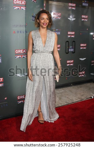 LOS ANGELES - FEB 20:  Carmen Ejogo at the GREAT British Film Reception Honoring The British Nominees Of The 87th Annual Academy Awards at a London Hotel on February 20, 2015 in West Hollywood, CA - stock photo