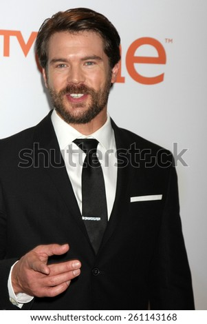 LOS ANGELES - FEB 6:  Charlie Weber at the 46th NAACP Image Awards Arrivals at a Pasadena Convention Center on February 6, 2015 in Pasadena, CA - stock photo