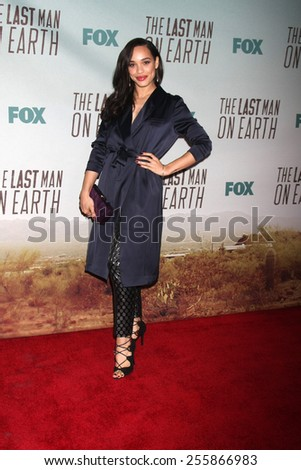 "LOS ANGELES - FEB 24:  Cleopatra Coleman at the ""The Last Man On Earth"" Premiere Screening at the Big Daddy's Antiques on February 24, 2015 in Culver City, CA"