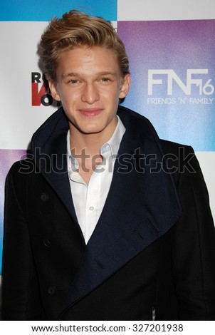 LOS ANGELES - FEB 8 - Cody Simpson  arrives at the 16th Annual Friends N Family Pre Grammy Party on February 8, 2013 in Los Angeles, CA              - stock photo