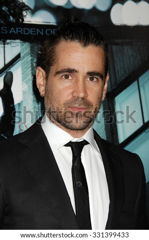 LOS ANGELES - FEB 26 - Colin Farrell arrives at the Dead Man Down World Premiere on February 26, 2013 in Los Angeles, CA