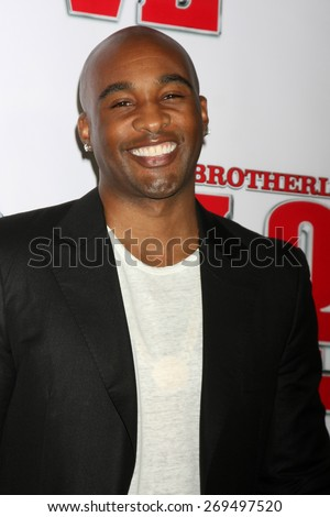 "LOS ANGELES - FEB 13:  Datari Turner at the ""Brotherly Love"" LA Premiere at the Silver Screen Theater at the Pacific Design Center on April 13, 2015 in West Hollywood, CA - stock photo"