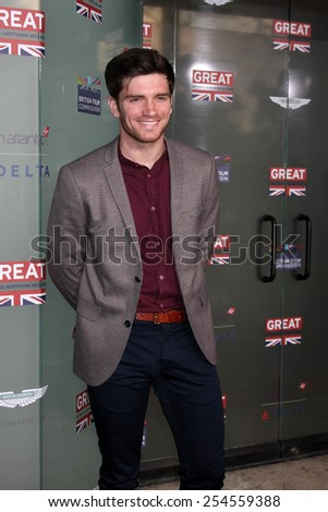 LOS ANGELES - FEB 20:  David Witts at the GREAT British Film Reception Honoring The British Nominees Of The 87th Annual Academy Awards at a London Hotel on February 20, 2015 in West Hollywood, CA - stock photo