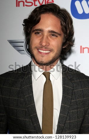 LOS ANGELES - FEB 10:  Diego Boneta arrives at the Warner Music Group post Grammy party at the Chateau Marmont  on February 10, 2013 in Los Angeles, CA..