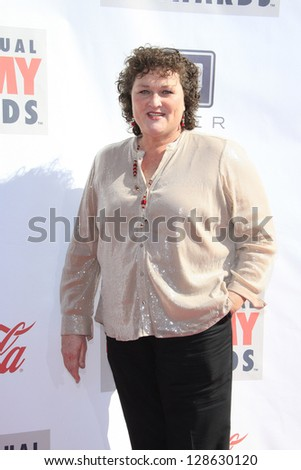 LOS ANGELES - FEB 17: Dot Marie Jones at the 3rd Annual Streamy Awards at the Hollywood Palladium on February 17, 2013 in Los Angeles, California - stock photo