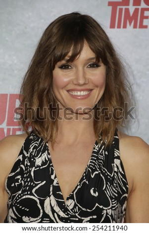 LOS ANGELES - FEB 18: Erinn Hayes at the 'Hot Tub Time Machine 2' premiere on February 18, 2014 in Los Angeles, California - stock photo