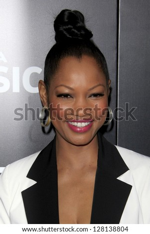 LOS ANGELES - FEB 9:  Garcelle Beauvais arrives at the ROC NATION Annual Pre-Grammy Brunch at the Soho House on February 9, 2013 in West Hollywood, CA - stock photo