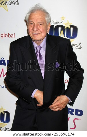 LOS ANGELES - FEB 22:  Garry Marshall at the Night of 100 Stars Oscar Viewing Party at the Beverly Hilton Hotel on February 22, 2015 in Beverly Hills, CA - stock photo