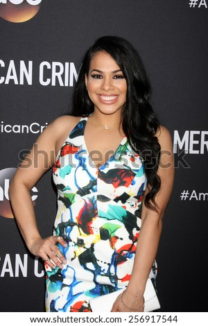 """LOS ANGELES - FEB 28:  Gleendilys Inoa at the """"American Crime"""" Premiere Screening at the The Theatre at Ace Hotel on February 28, 2015 in Los Angeles, CA - stock photo"""