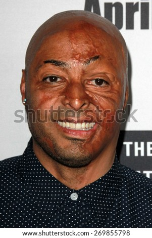 """LOS ANGELES - FEB 14:  J.R. Richards at the """"Little Boy"""" Los Angeles Premiere at the Regal 14 Theaters on April 14, 2015 in Los Angeles, CA - stock photo"""
