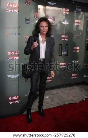 LOS ANGELES - FEB 20:  Jacqueline Bisset at the GREAT British Film Reception Honoring The British Nominees Of The 87th Annual Academy Awards at London Hotel on February 20, 2015 in West Hollywood, CA - stock photo