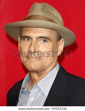 LOS ANGELES - FEB 10: James Taylor arrives at the 2012 MusiCares Gala honoring Paul McCartney at LA Convention Center on February 10, 2012 in Los Angeles, CA