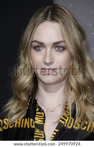 LOS ANGELES - FEB 2: Jamie Clayton at the 'Jupiter Ascending' Los Angeles Premiere at TCL Chinese Theater on February 2, 2015 in Hollywood, Los Angeles, California - stock photo