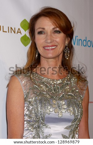 LOS ANGELES - FEB 20:  Jane Seymour arrives at The Wrap Pre-Oscar Event at the Culina at the Four Seasons Hotel on February 20, 2013 in Los Angeles, CA