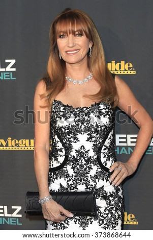 LOS ANGELES - FEB 5: Jane Seymour at the 24th Annual MovieGuide Awards at Universal Hilton Hotel on February 5, 2016 in Universal City, Los Angeles, California - stock photo