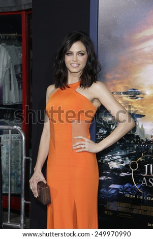 LOS ANGELES - FEB 2: Jenna Dewan at the 'Jupiter Ascending' Los Angeles Premiere at TCL Chinese Theater on February 2, 2015 in Hollywood, Los Angeles, California - stock photo