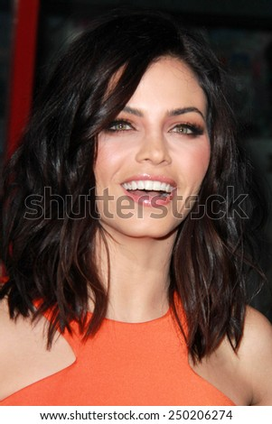 """LOS ANGELES - FEB 2:  Jenna Dewan-Tatum at the """"Jupiter Ascending"""" Los Angeles Premiere at a TCL Chinese Theater on February 2, 2015 in Los Angeles, CA - stock photo"""