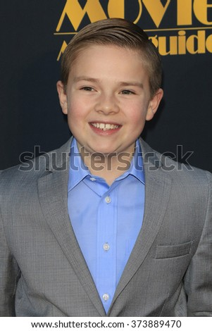 LOS ANGELES - FEB 5: Jet Jurgensmeyer at the 24th Annual MovieGuide Awards at Universal Hilton Hotel on February 5, 2016 in Universal City, Los Angeles, California - stock photo