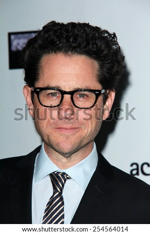 LOS ANGELES - FEB 19:  JJ Abrams at the Oscar Wilde US-Ireland Pre-Academy Awards Event at a Bad Robot on February 19, 2015 in Santa Monica, CA