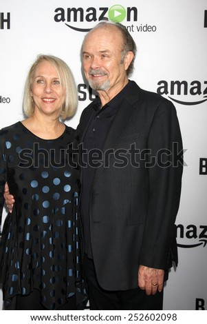 """LOS ANGELES - FEB 3:  Joan Smith, Kurtwood Smith at the """"Bosch"""" Amazon Red Carpet Premiere Screening at a ArcLight Hollywood Theaters on February 3, 2015 in Los Angeles, CA - stock photo"""