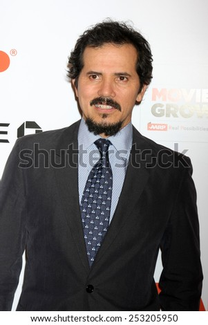 LOS ANGELES - FEB 2:  John Leguizamo at the AARP 14th Annual Movies For Grownups Awards Gala at a Beverly Wilshire Hotel on February 2, 2015 in Beverly Hills, CA - stock photo