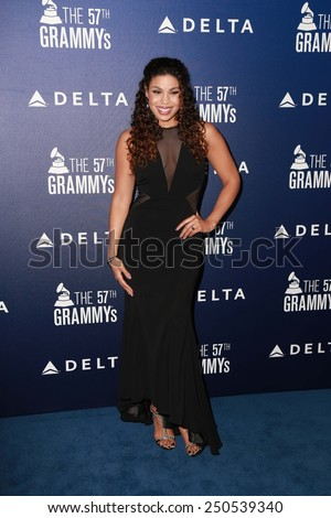 LOS ANGELES - FEB 5:  Jordin Sparks at the Delta Air Lines Toasts 2015 GRAMMYs at a SOHO House on February 5, 2015 in West Hollywood, CA - stock photo