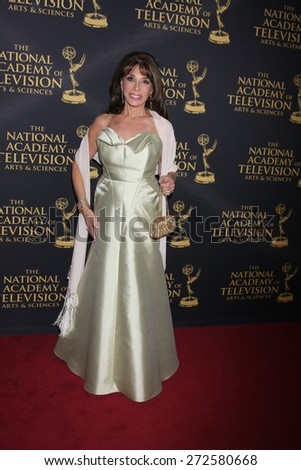 LOS ANGELES - FEB 24:  Kate Linder at the Daytime Emmy Creative Arts Awards 2015 at the Universal Hilton Hotel on April 24, 2015 in Los Angeles, CA