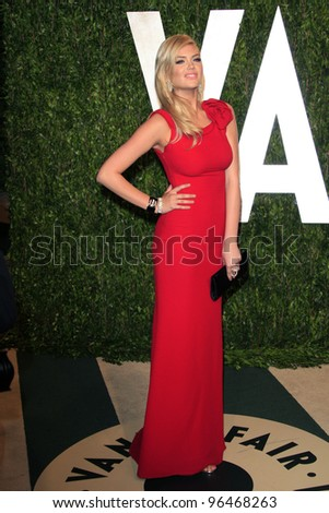 LOS ANGELES - FEB 26:  Kate Upton arrives at the 2012 Vanity Fair Oscar Party  at the Sunset Tower on February 26, 2012 in West Hollywood, CA