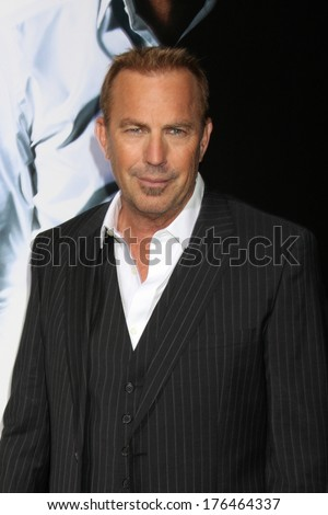 "LOS ANGELES - FEB 12:  Kevin Costner at the ""3 Days to Kill"" LA Premiere at ArcLight Hollywood Theaters on February 12, 2014 in Los Angeles, CA"