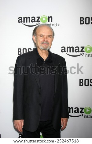 "LOS ANGELES - FEB 3:  Kurtwood Smith at the ""Bosch"" Amazon Red Carpet Premiere Screening at a ArcLight Hollywood Theaters on February 3, 2015 in Los Angeles, CA - stock photo"
