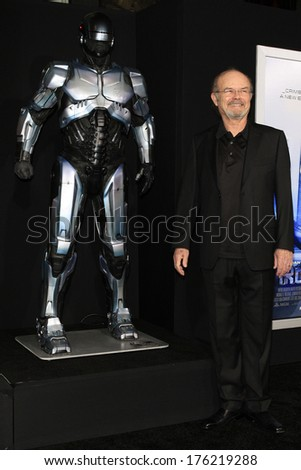 LOS ANGELES - FEB 10: Kurtwood Smith at the premiere of Columbia Pictures' 'Robocop' at TCL Chinese Theatre on February 10, 2014 in Los Angeles, California - stock photo