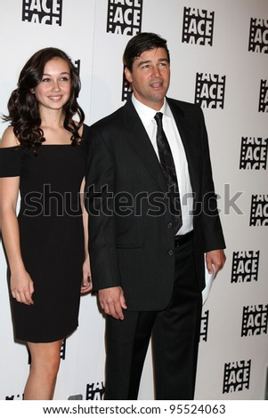LOS ANGELES - FEB 18:  Kyle Chandler; daughter arrives at the 62nd Annual ACE Eddie Awards at the Beverly Hilton Hotel on February 18, 2012 in Beverly Hills, CA