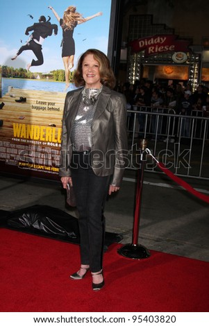 "LOS ANGELES - FEB 16:  Linda Lavin arrives at the ""Wanderlust"" World Premiere at the Village Theater on February 16, 2012 in Westwood, CA"
