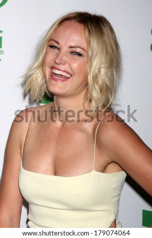 LOS ANGELES - FEB 26:  Malin Akerman at the Global Green USA Pre-Oscar Event at Avalon Hollywood on February 26, 2014 in Los Angeles, CA - stock photo