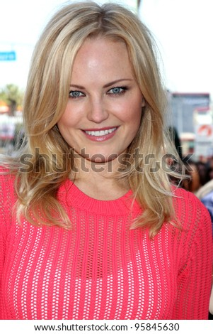 LOS ANGELES - FEB 22:  Malin Akerman at the Jennifer Aniston Hollywood Walk of Fame Star Ceremony at the W Hollywood on February 22, 2012 in Los Angeles, CA.