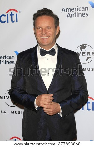 LOS ANGELES - FEB 15:  Mark Burnett at the Universal Music Group's 2016 Grammy After Party at the Ace Hotel on February 15, 2016 in Los Angeles, CA - stock photo