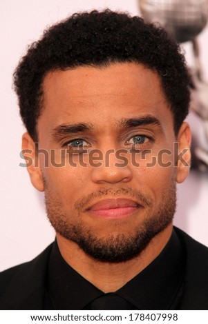 LOS ANGELES - FEB 22:  Michael Ealy at the 45th NAACP Image Awards Arrivals at Pasadena Civic Auditorium on February 22, 2014 in Pasadena, CA