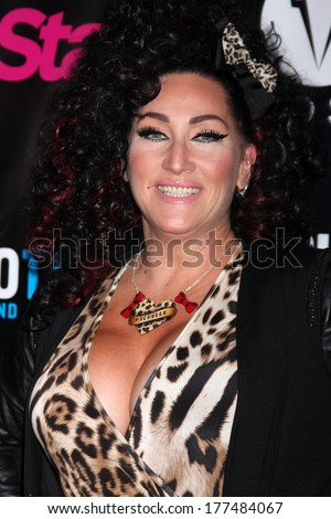 "LOS ANGELES - FEB 17:  Michelle Visage at the ""RuPaul's Drag Race"" Season 6 Premiere Party at Hollywood Roosevelt Hotel on February 17, 2014 in Los Angeles, CA"