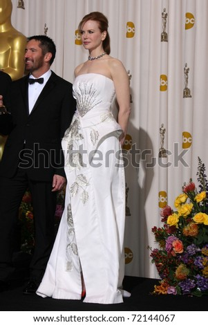 LOS ANGELES -  FEB 27:  Nicole Kidman arrives in the Press Room at the 83rd Academy Awards at Kodak Theater, Hollywood & Highland on February 27, 2011 in Los Angeles, CA