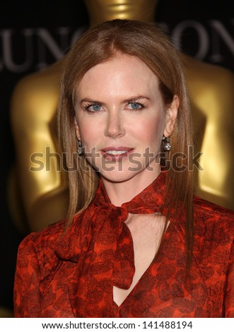 LOS ANGELES - FEB 7:  NICOLE KIDMAN arrives to the 83rd Academy Awards Nominees Luncheon  on Feb 7, 2011 in Beverly Hills, CA - stock photo